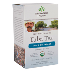 BFG38289 - Organic IndiaTulsi India Breakfast Tea