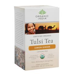 BFG38291 - Organic IndiaTulsi Lemon Ginger Tea