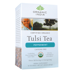 BFG38295 - Organic IndiaTulsi Peppermint Tea