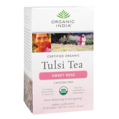 BFG38299 - Organic IndiaTulsi Sweet Rose Tea