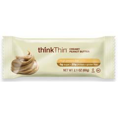 BFG33664 - thinkThinCreamy Peanut Butter Protein Bar