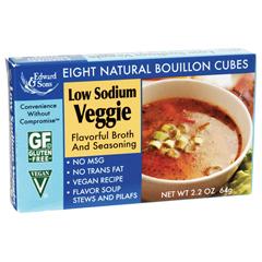 BFG21190 - Edward & SonsLow Sodium Veggie Bouillon Cubes