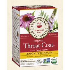 BFG28961 - Traditional MedicinalsOrganic Throat Coat® Lemon Echinacea