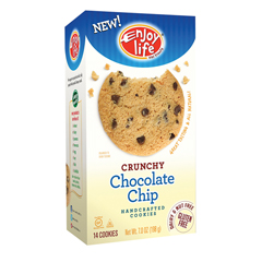 BFG01225 - Enjoy LifeCrunchy Chocolate Chip Cookies