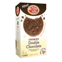 BFG01226 - Enjoy LifeCrunchy Double Chocolate Cookies