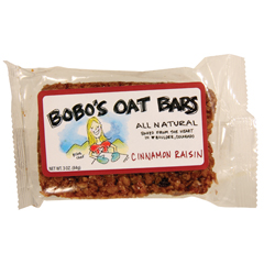 BFG27862 - Bobo's Oat BarsCinnamon Raisin Oat Bar