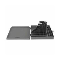 ORS023-56026 - Allen667 18 Key Hex Key Set n/Metal Case #49267