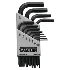 ALN023-56080 - AllenShort Arm Hex Key Sets
