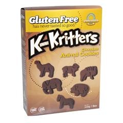BFG33405 - Kinnikinnick FoodsKinniKritters Chocolate Animal Cookies
