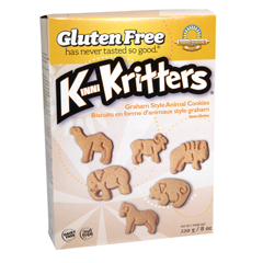 BFG33406 - Kinnikinnick FoodsKinniKritters Graham Style Animal Cookies