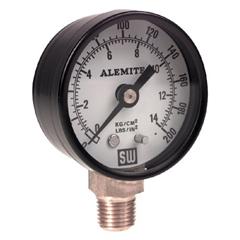 ALM025-323449-4 - AlemiteAir Pressure Gauges