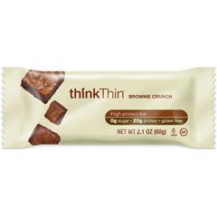 BFG33661 - thinkThin - Brownie Crunch Protein Bar