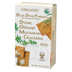 BFG86032 - Partners CrackersStone Ground Multigrain Bite Size Crackers