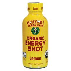 BFG22025 - GuayakiLemon Organic Energy Shot