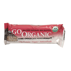 BFG33704 - NugoDark Chocolate Pomegranate Bar