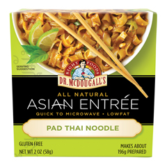 BFG66350 - Dr. Mcdougall'sPad Thai Noodles, Gluten Free
