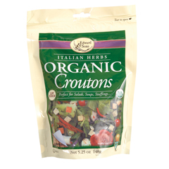 BFG20984 - Edward & SonsItalian Herb Organic Croutons