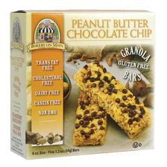 BFG20772 - Bakery On MainGluten Free Peanut Butter Chocolate Granola Bars
