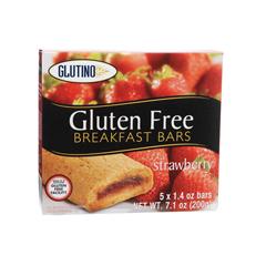 BFG65028 - GlutinoStrawberry Cereal Bars