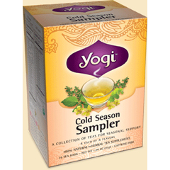 BFG27039 - Yogi TeasCold Season Sampler Tea