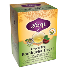 BFG27024 - Yogi TeasGreen Tea Kombucha Decaf