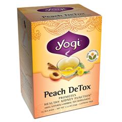 BFG27056 - Yogi TeasPeach Detox Tea