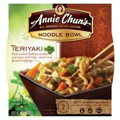 BFG22610 - Annie Chun'sTeriyaki Noodle Bowl