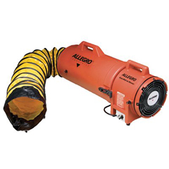 ALG037-9533-25 - AllegroPlastic Com-Pax-Ial Blowers w/Canisters