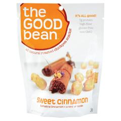 BFG01277 - The Good BeanSweet Cinnamon Chickpea Snack Gluten-free