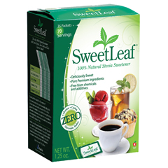 BFG67035 - Sweet LeafStevia Plus Sweetener Packets