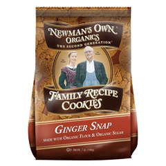 BFG00908 - Newman's Own OrganicsFamily Recipe Ginger Snap Cookies