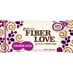 BFG32874 - Gnu FoodsFiberLove Cinnamon Raisin Bars