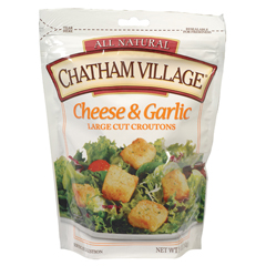 BFG34871 - Chatham Village - Large Cut Cheese & Garlic Croutons