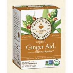 BFG28031 - Traditional MedicinalsGinger Aid Tea