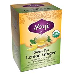 BFG28174 - Yogi TeasGrean Tea Lemon Ginger