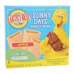 BFG39161 - Earth's BestSunny Days Apple Snack Bars