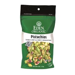 BFG63090 - Eden FoodsShelled & Dry Roasted Pistachios