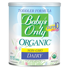 BFG39195 - Nature's One Inc.Babys Only Organic® Dairy Powder Formula