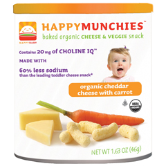 BFG46350 - Happy BabyCheddar Cheese with Carrot Munchies