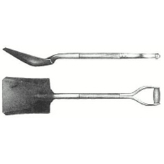 AST065-S-84FG - Ampco Safety Tools - Square Point Shovels