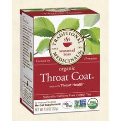 BFG29009 - Traditional MedicinalsOrganic Throat Coat Tea