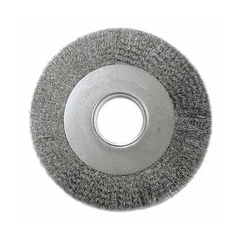 ANB066-01314 - Anderson BrushMedium Face Crimped Wire Wheels-DA Series