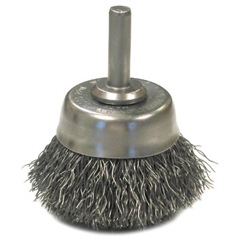 ANB066-06641 - Anderson BrushCrimped Wire Cup Brushes-NH Series-Hollow End