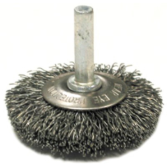 ANB066-09034 - Anderson BrushStem Mounted Flared Crimped Wire Cup Brushes-SSMF Series
