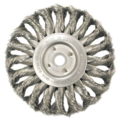 ANB066-13553 - Anderson BrushMedium Face Standard Twist Knot Wire Wheels-TS & TSX Series