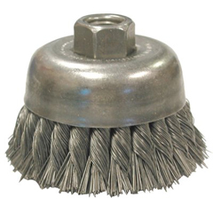ANB066-16635 - Anderson BrushKnot Wire Cup Brush-Double Row-UDX Series