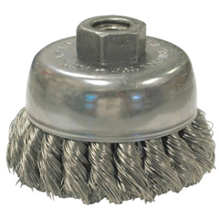 ANB066-17165 - Anderson BrushKnot Wire Cup Brushes For Small Angle Grinders-US & USC Series