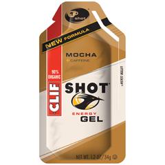 BFG53071 - Clif BarMocha Clif Shot Energy Gel with Caffeine
