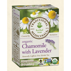 BFG29054 - Traditional MedicinalsOrganic Chamomile Tea with Lavender
