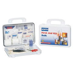 ORS068-019702-0002L - North Safety25 Person Bulk First Aid Kit Plastic Case
